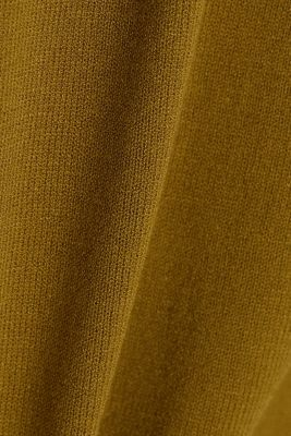 Cardigan made of LENZING™ ECOVERO™, OLIVE, detail