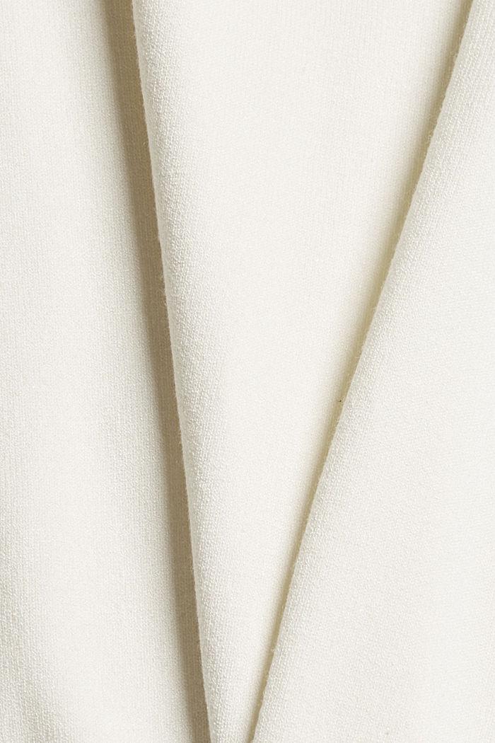 Pulovr s krátkým rukávem, z recyklovaného polyesteru se strečem pro pohodlí, ICE, detail image number 3