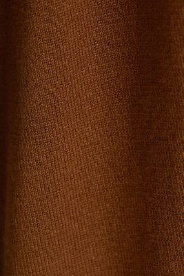LENZING™ ECOVERO™ fine knit cardigan, TOFFEE, detail