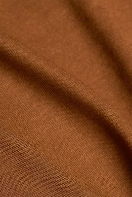 T-shirt made of LENZING™ ECOVERO™, TOFFEE, detail