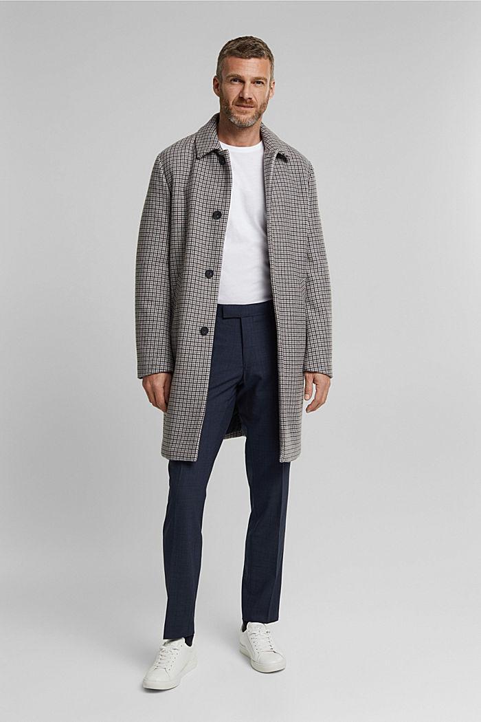 Anzughose aus Wollmix