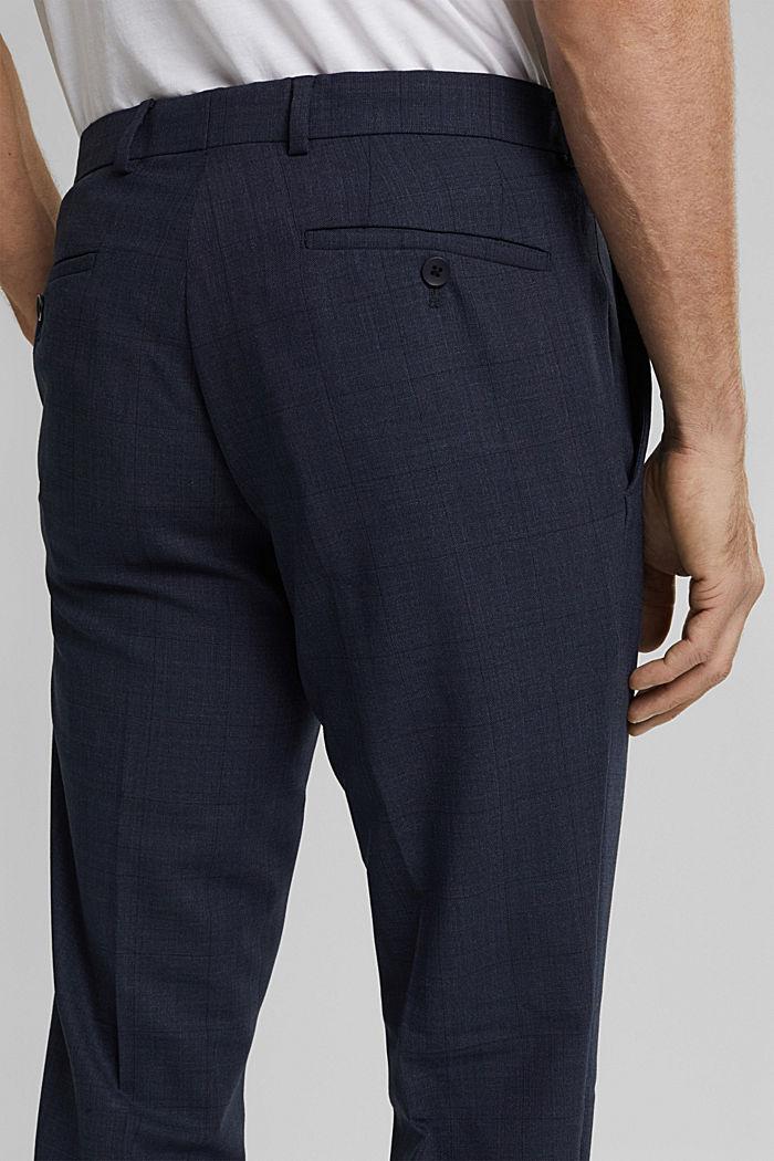 Anzughose aus Wollmix, DARK BLUE, detail image number 3