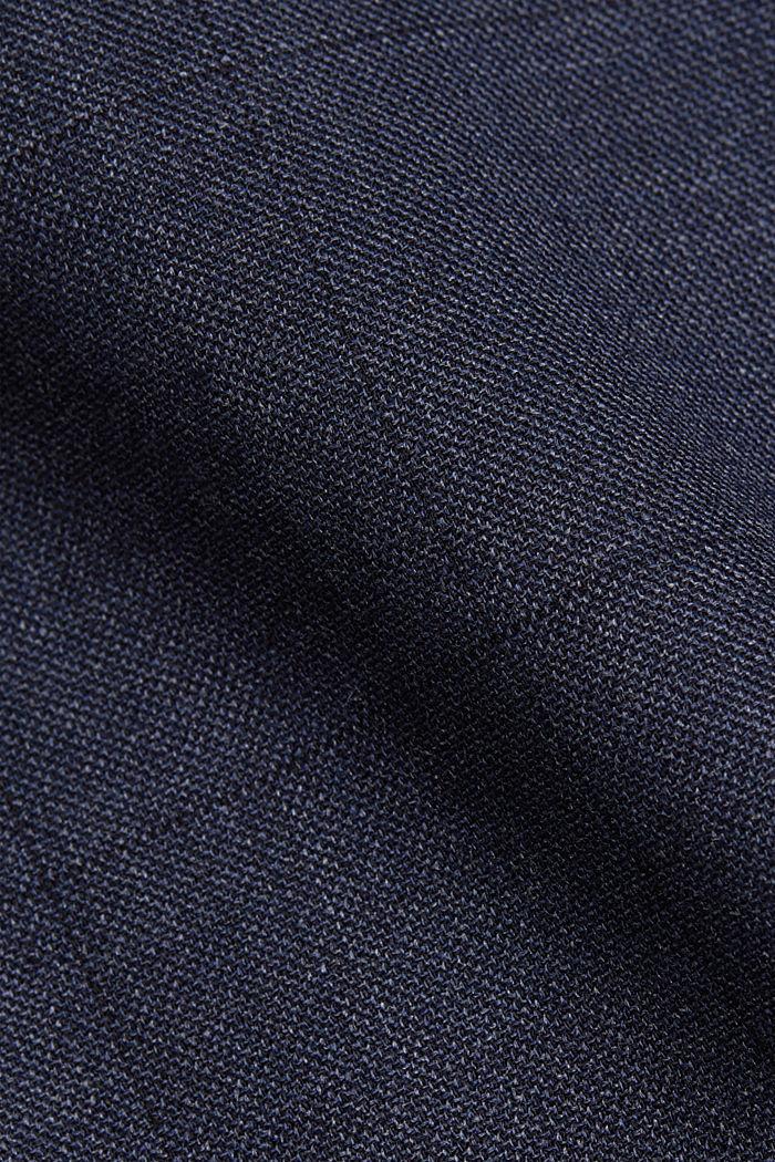 Anzughose aus Wollmix, DARK BLUE, detail image number 4