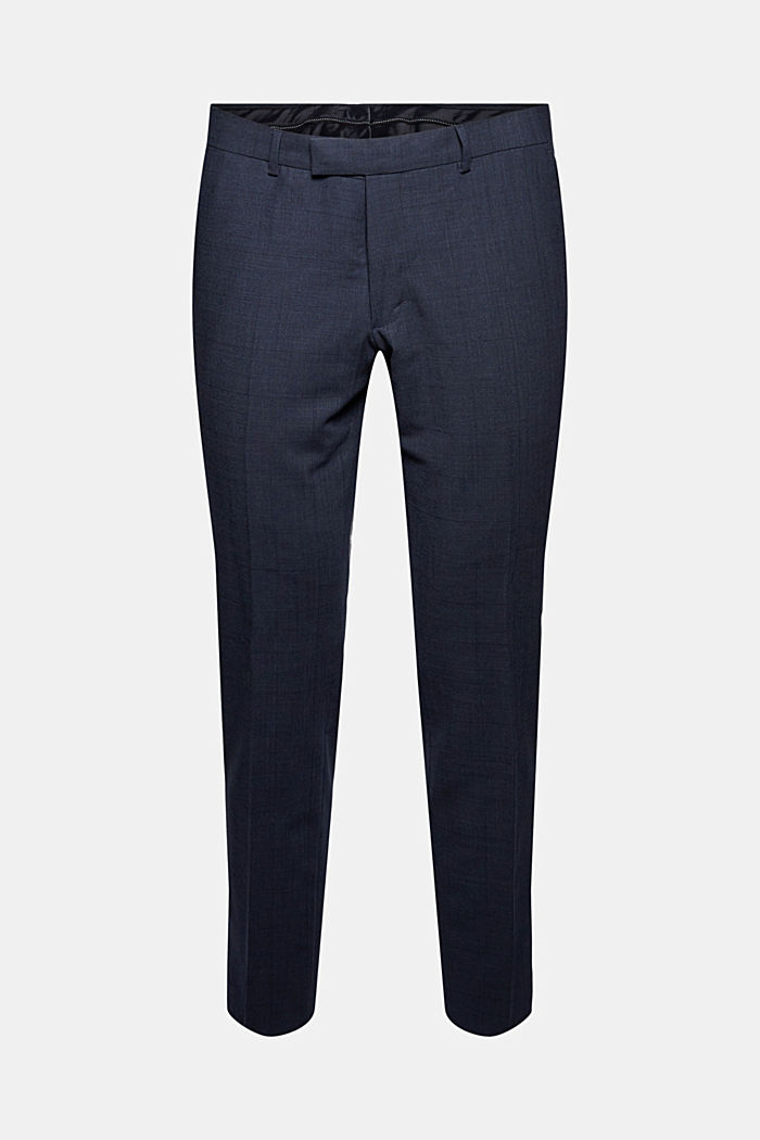 Suit trousers made of blended wool