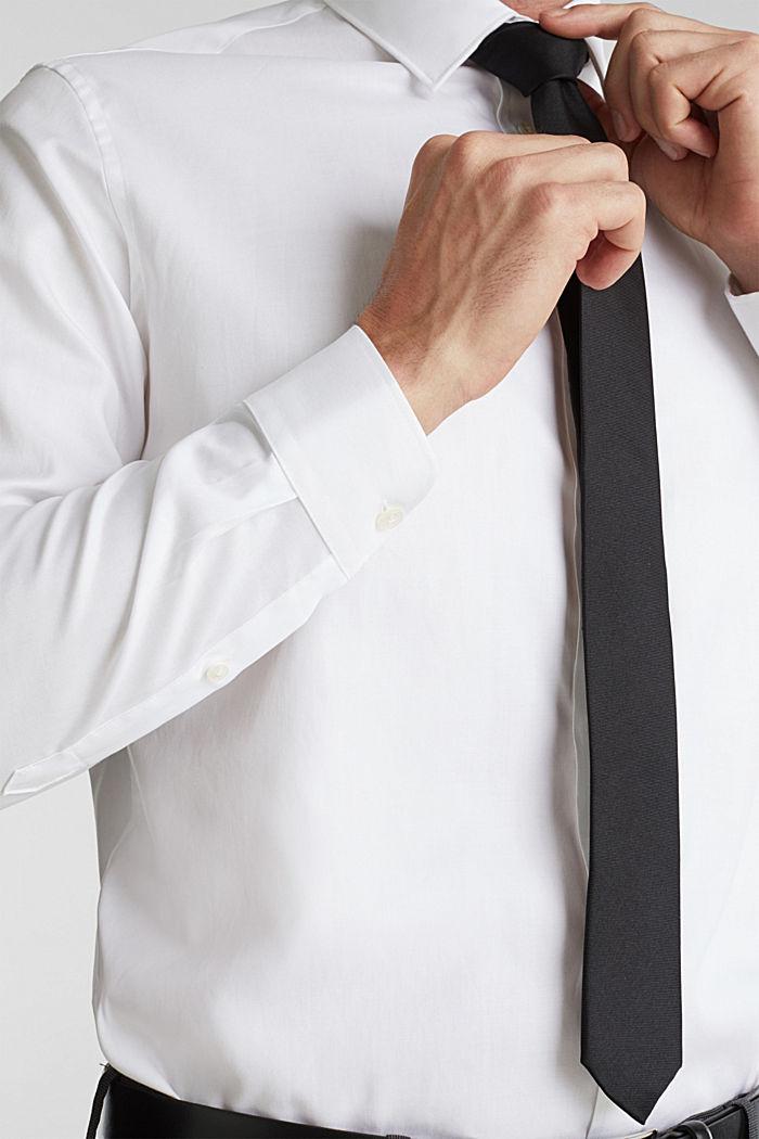 100% cotton shirt, WHITE, detail image number 2