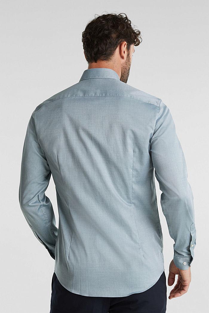 Hemd aus 100% Baumwolle, BOTTLE GREEN, detail image number 3