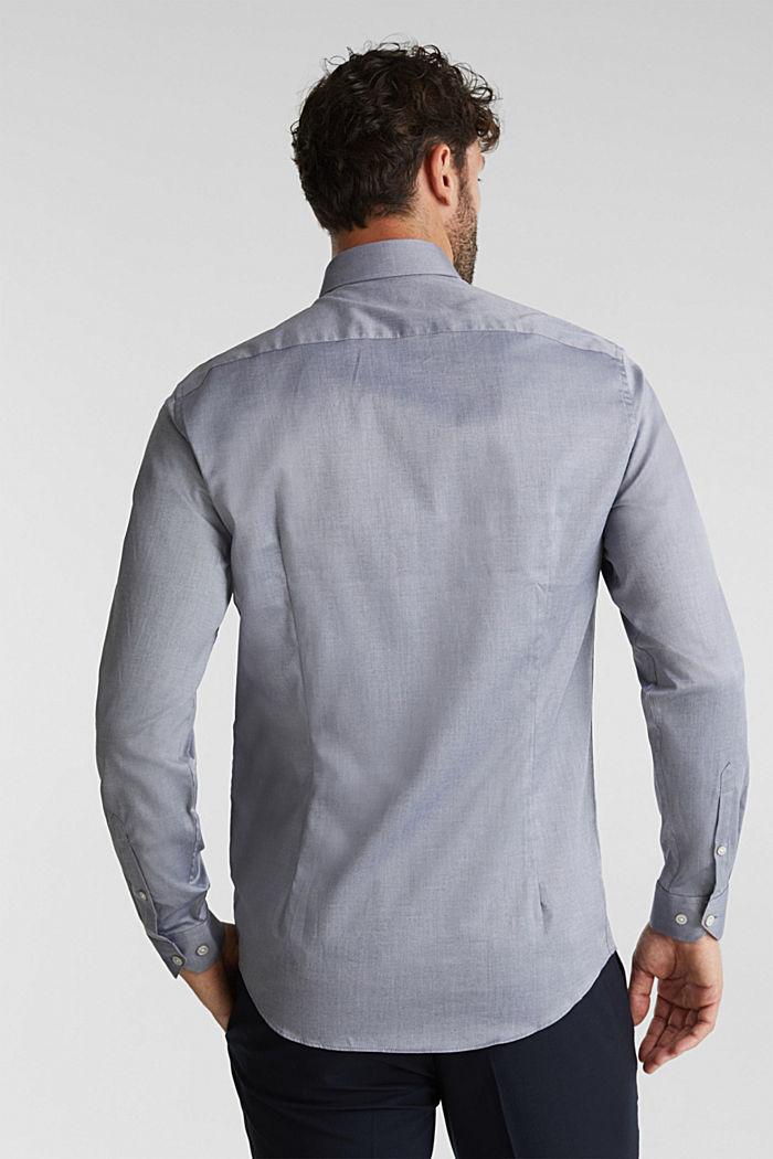 Hemd aus 100% Baumwolle, NAVY, detail image number 3