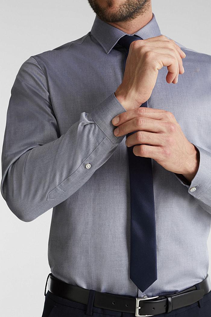 Hemd aus 100% Baumwolle, NAVY, detail image number 2
