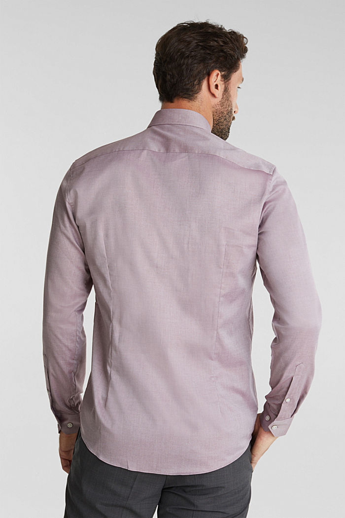 100% cotton shirt, BORDEAUX RED, detail image number 3