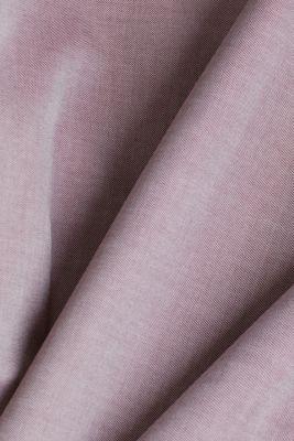 100% cotton shirt, BORDEAUX RED, detail