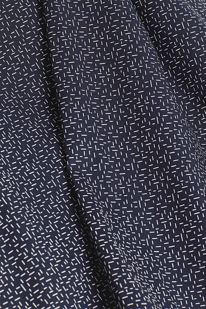 Printed T-shirt in 100% cotton, NAVY, detail image number 4