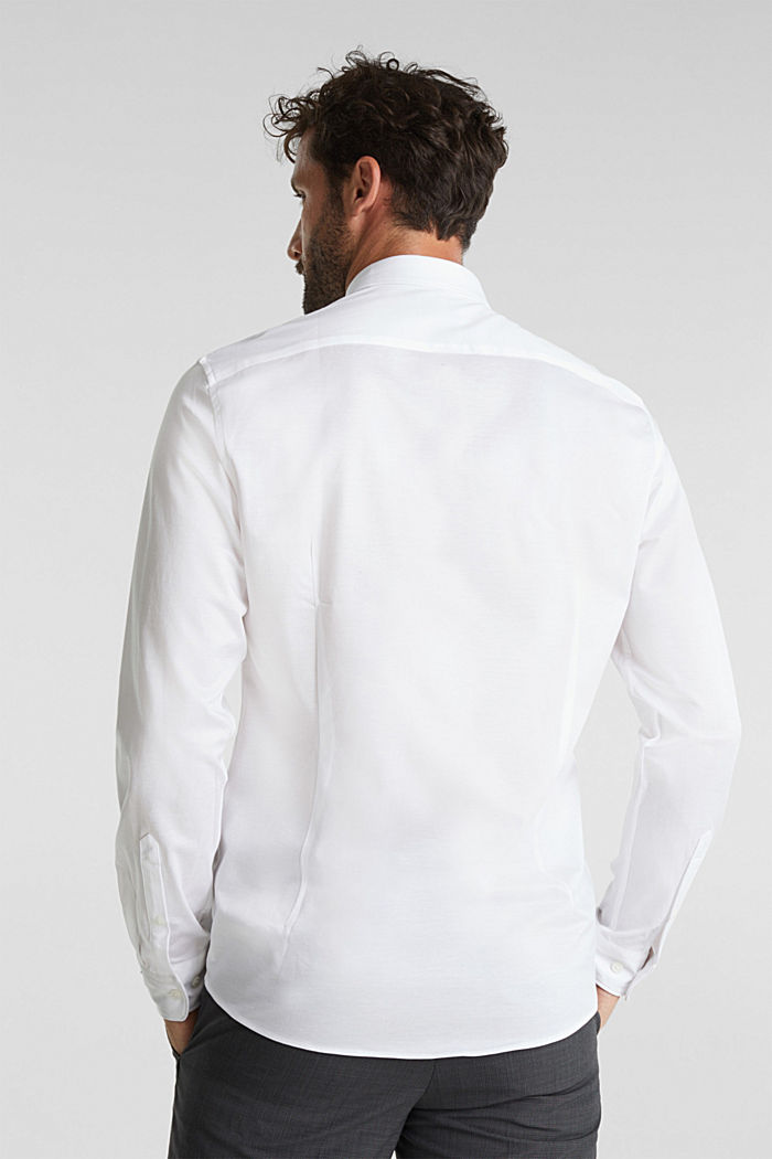 Jersey shirt made of 100% organic cotton, WHITE, detail image number 3