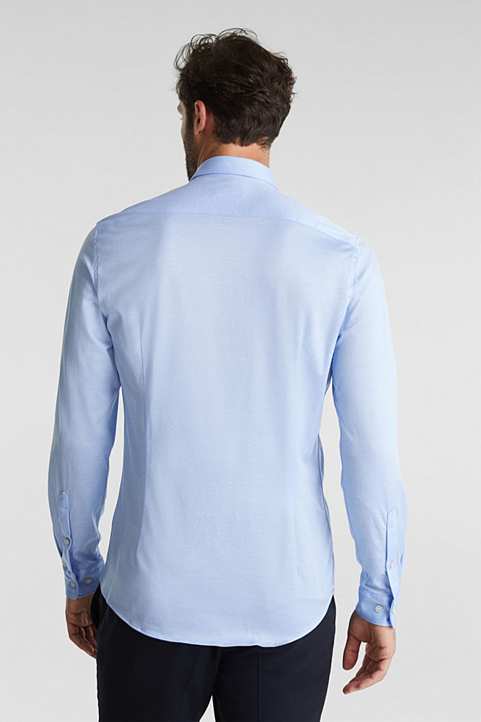Jersey-Hemd aus 100% Organic Cotton, LIGHT BLUE, detail image number 2