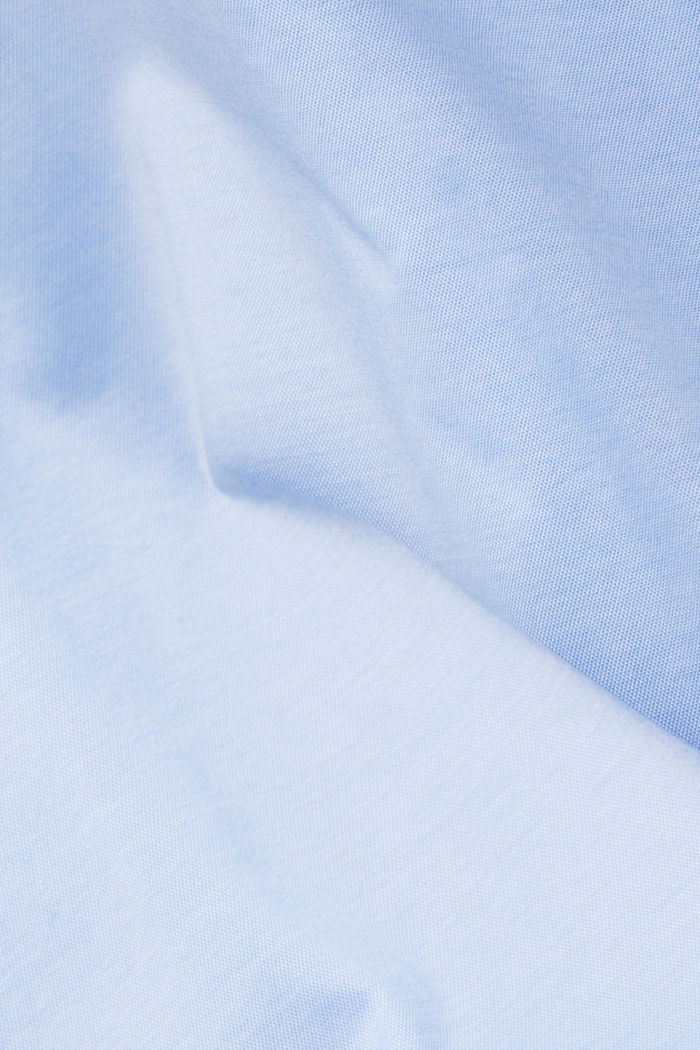 Jersey-Hemd aus 100% Organic Cotton, LIGHT BLUE, detail image number 3