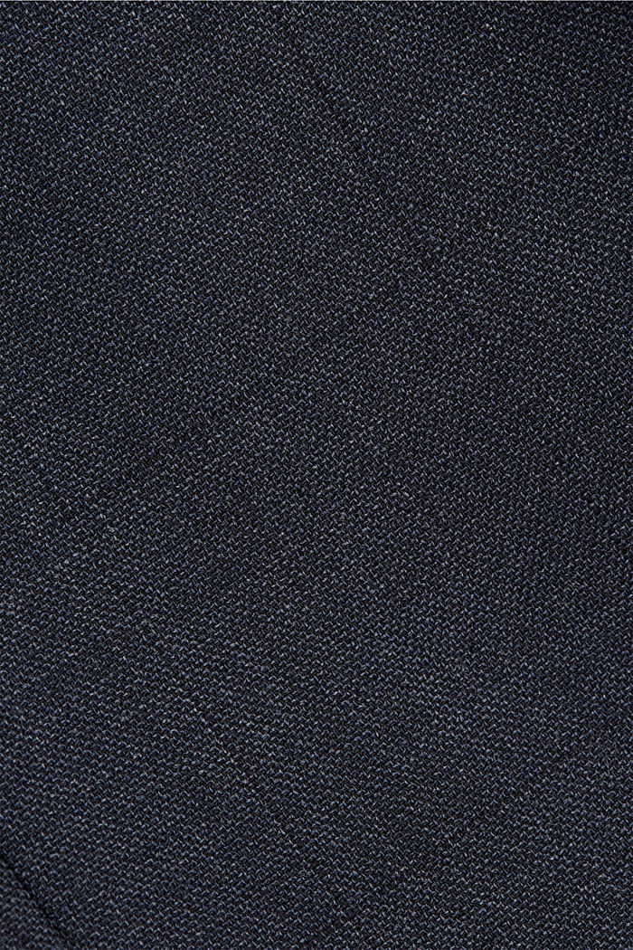Recycled: sports jacket with wool, DARK BLUE, detail image number 4
