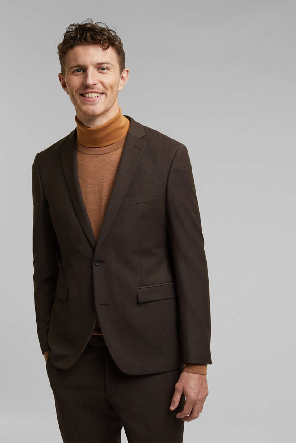 Esprit - ACTIVE SUIT mix + match colbert in tweekleurige look