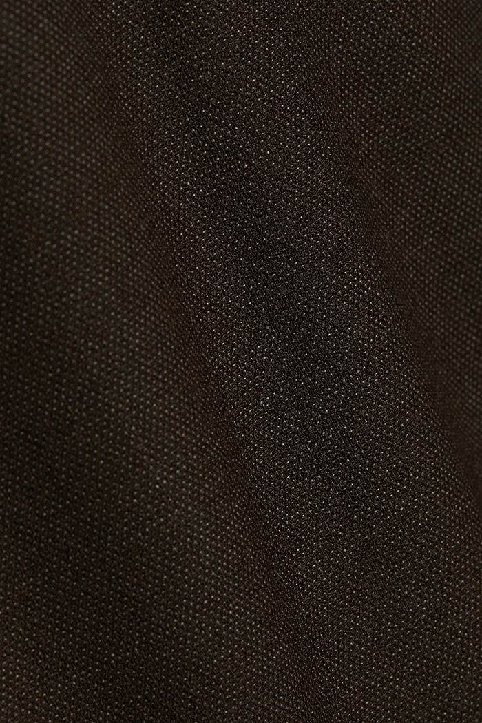 ACTIVE SUIT mix + match tailored jacket in a two-tone look, DARK BROWN, detail image number 5