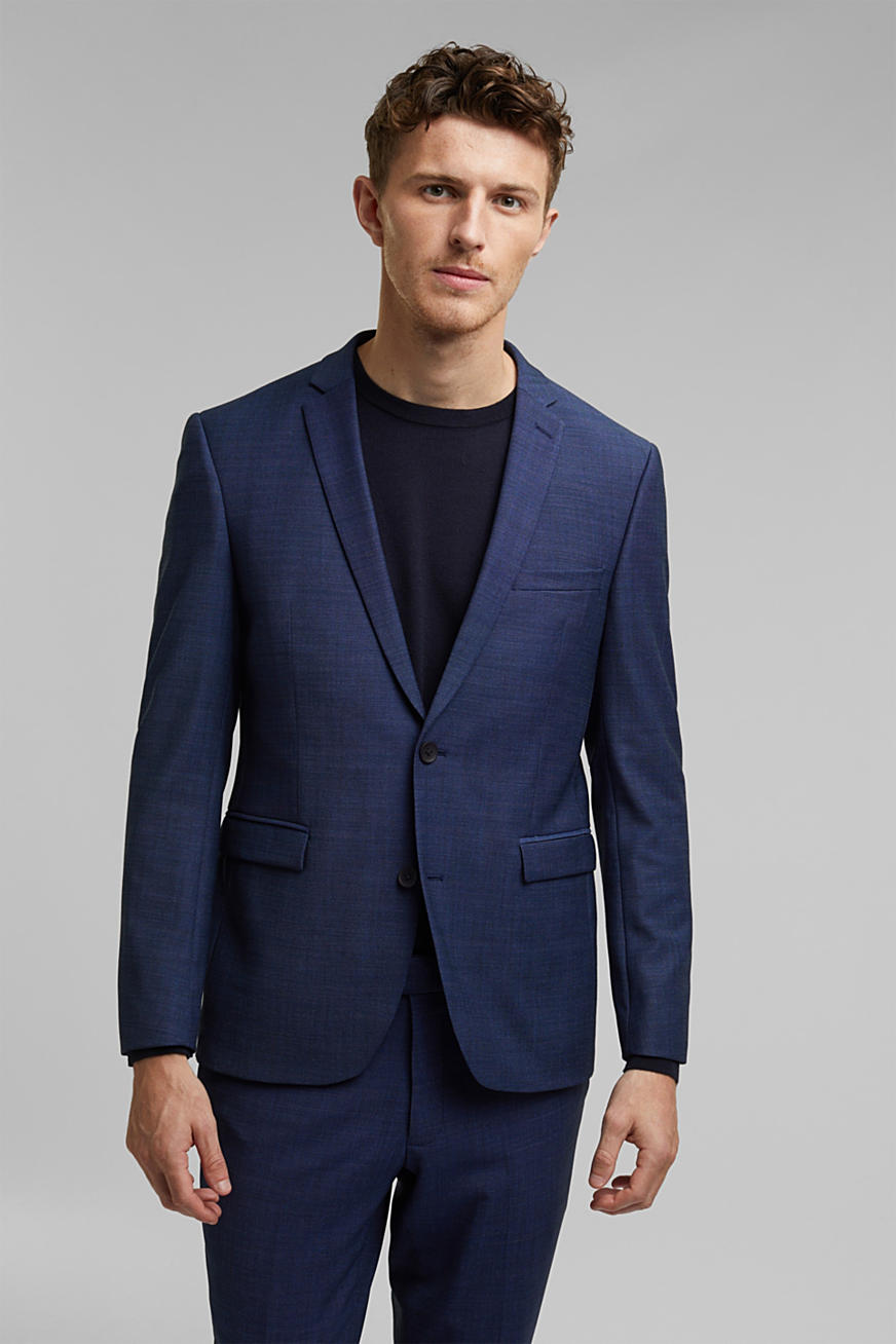 ACTIVE SUIT mix + match colbert in tweekleurige look