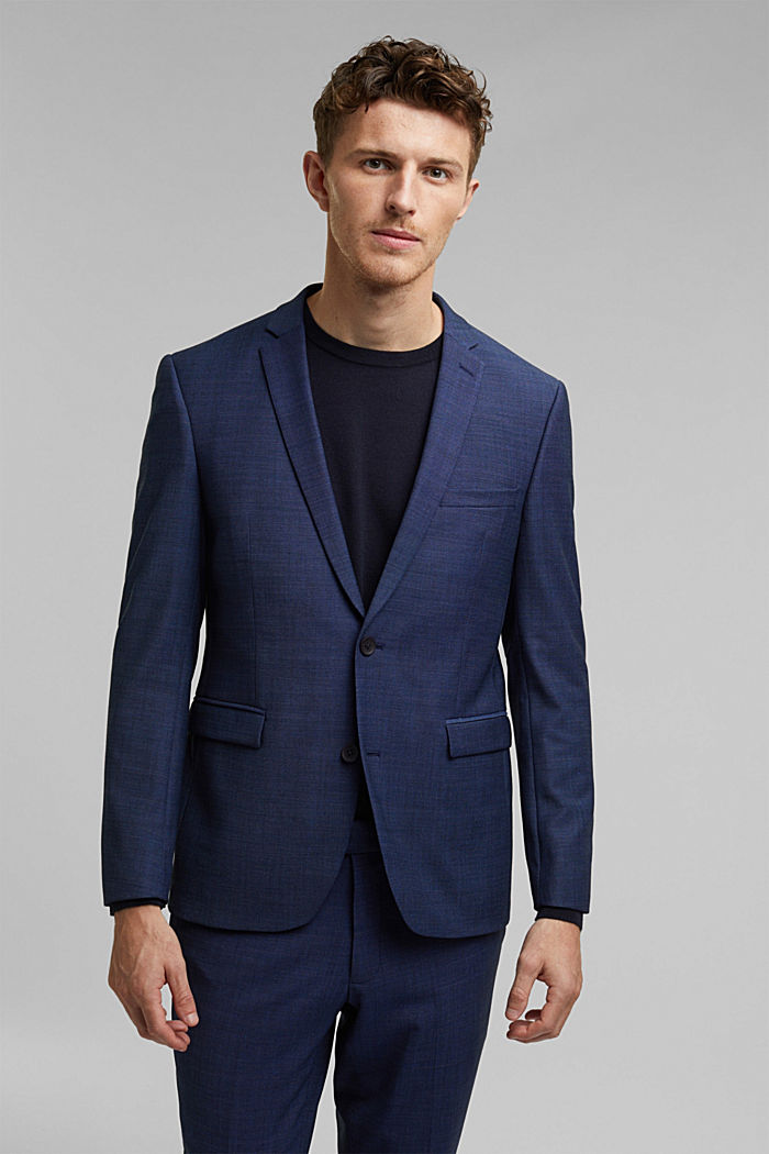 ACTIVE SUIT mix + match tailored jacket in a two-tone look