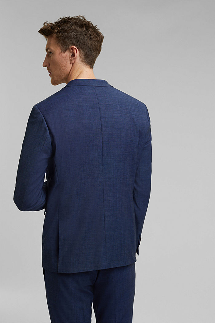 ACTIVE SUIT Americana Mix+Match con diseño bicolor, BLUE, detail image number 3