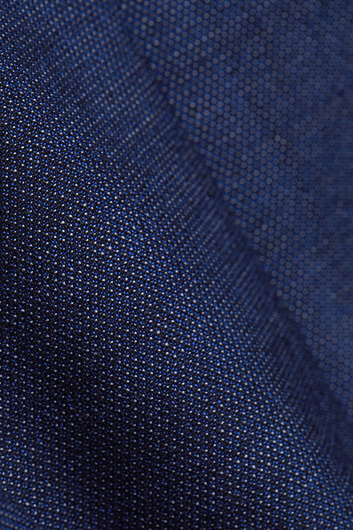 ACTIVE SUIT Americana Mix+Match con diseño bicolor, BLUE, detail image number 4