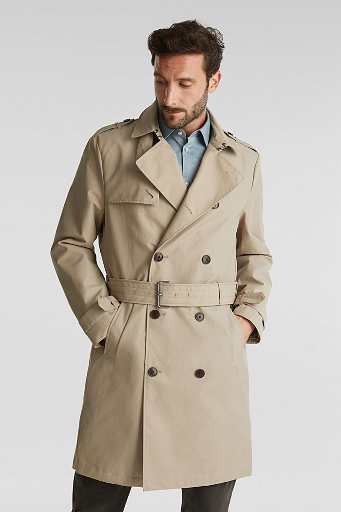Trench coat with 3M™ Thinsulate™ filling, BEIGE, detail image number 0