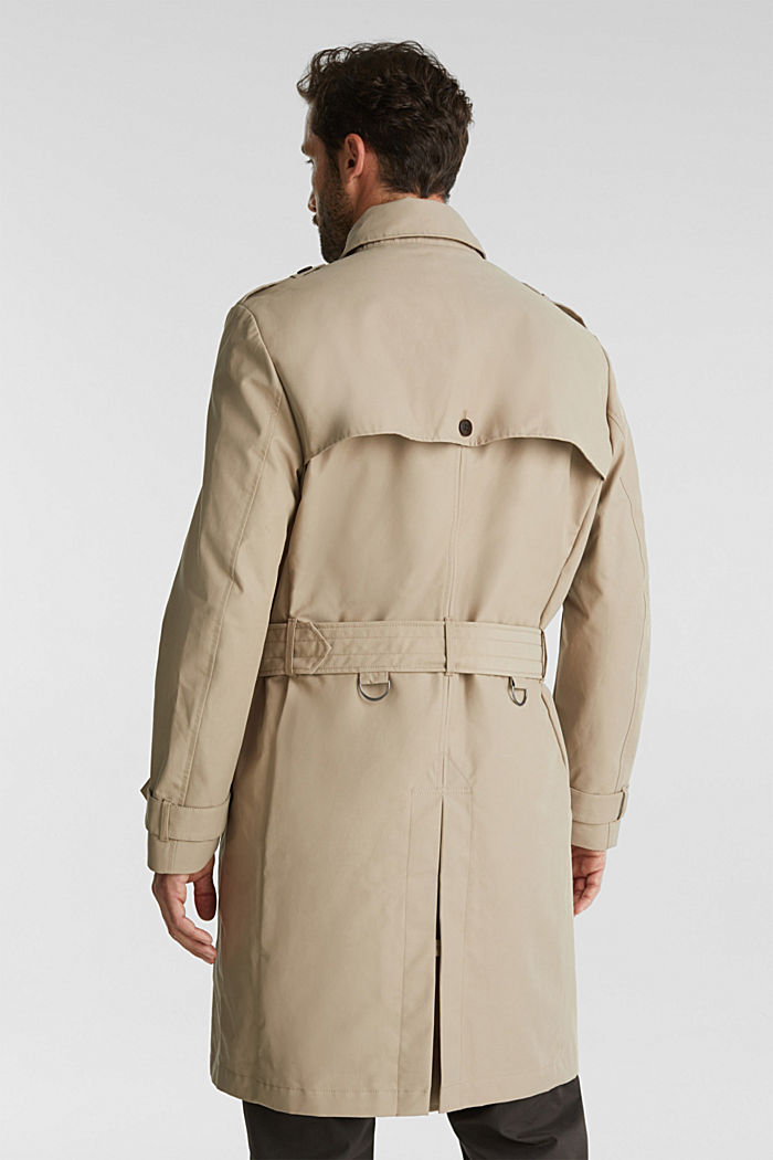 Trench coat with 3M™ Thinsulate™ filling, BEIGE, detail image number 3