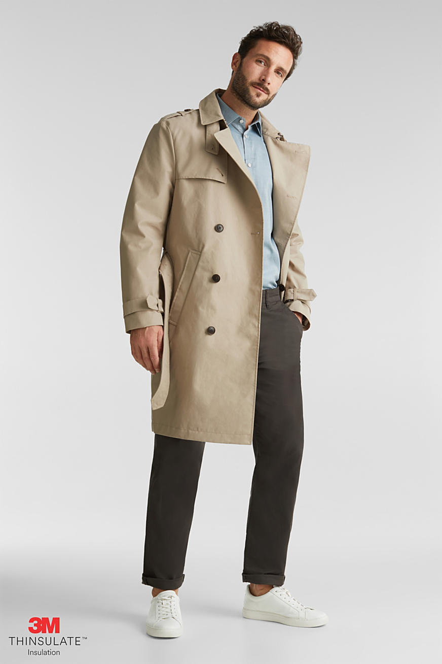 Trenchcoat med 3M™ Thinsulate™-fyllning