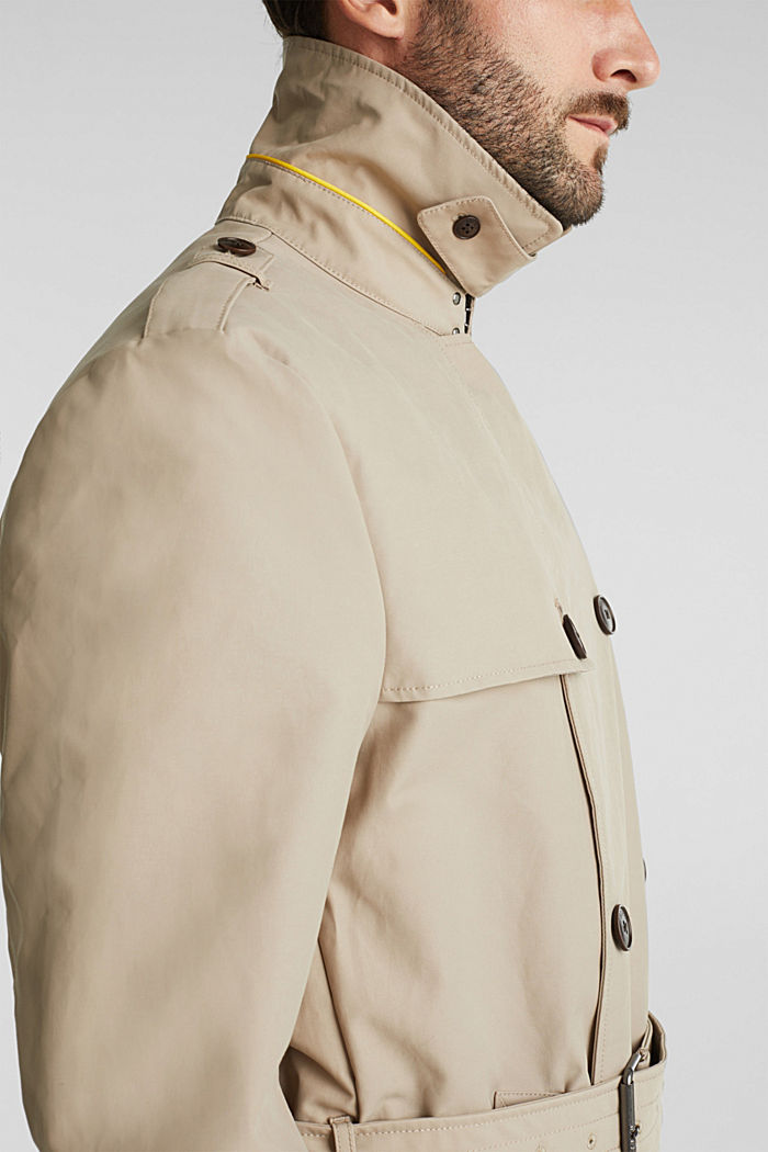 Trench coat with 3M™ Thinsulate™ filling, BEIGE, detail image number 2