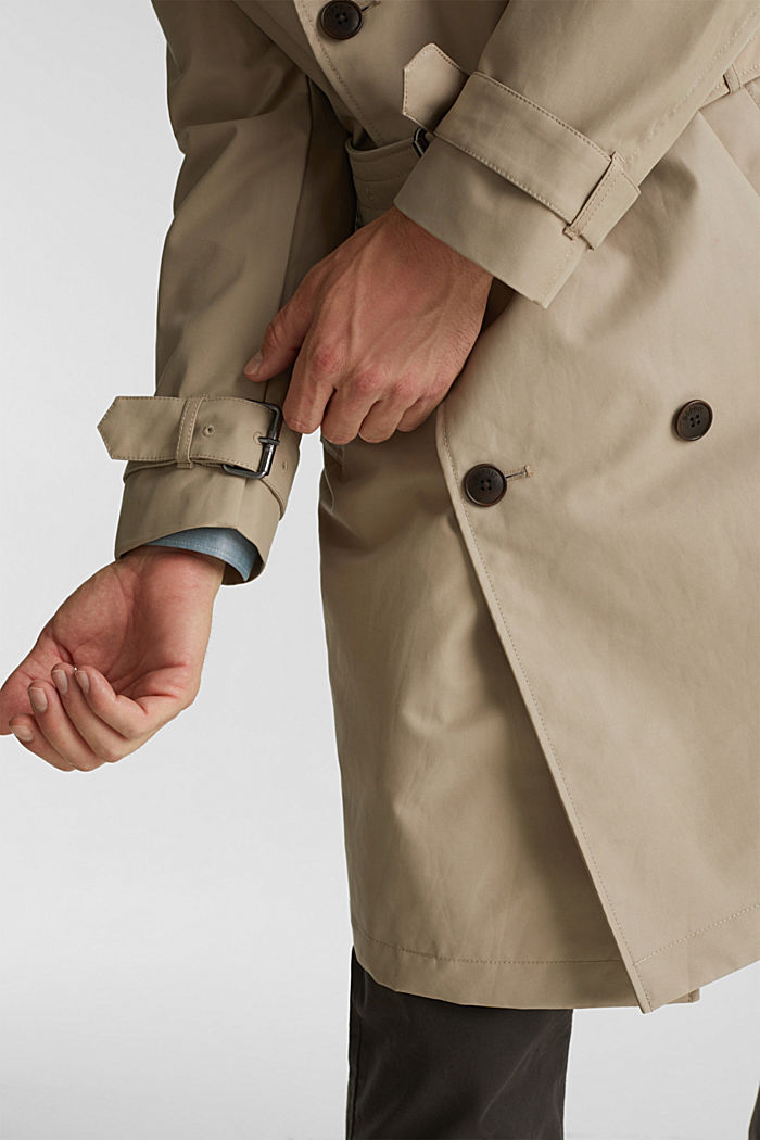 Trench coat with 3M™ Thinsulate™ filling, BEIGE, detail image number 6