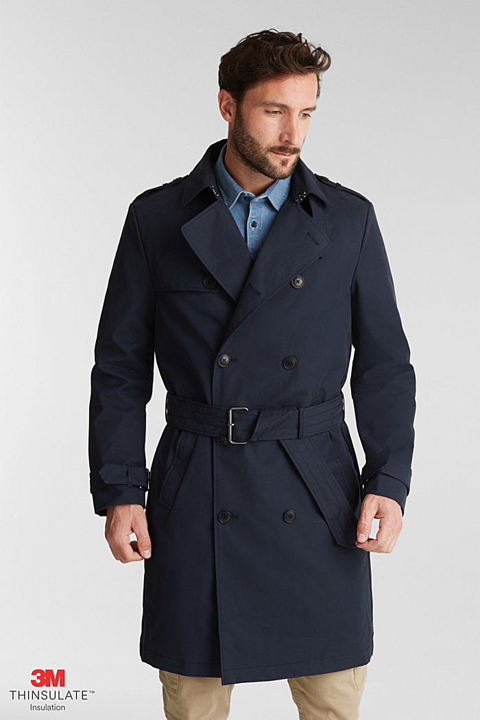 Trench coat with 3M™ Thinsulate™ filling