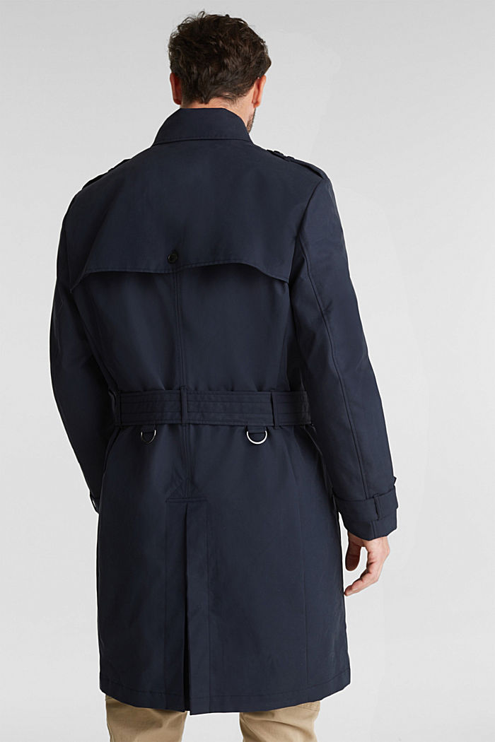Trenchcoat met 3M™ Thinsulate™-vulling, NAVY, detail image number 3