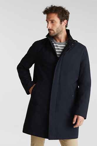 Recycled: coat with wool padding
