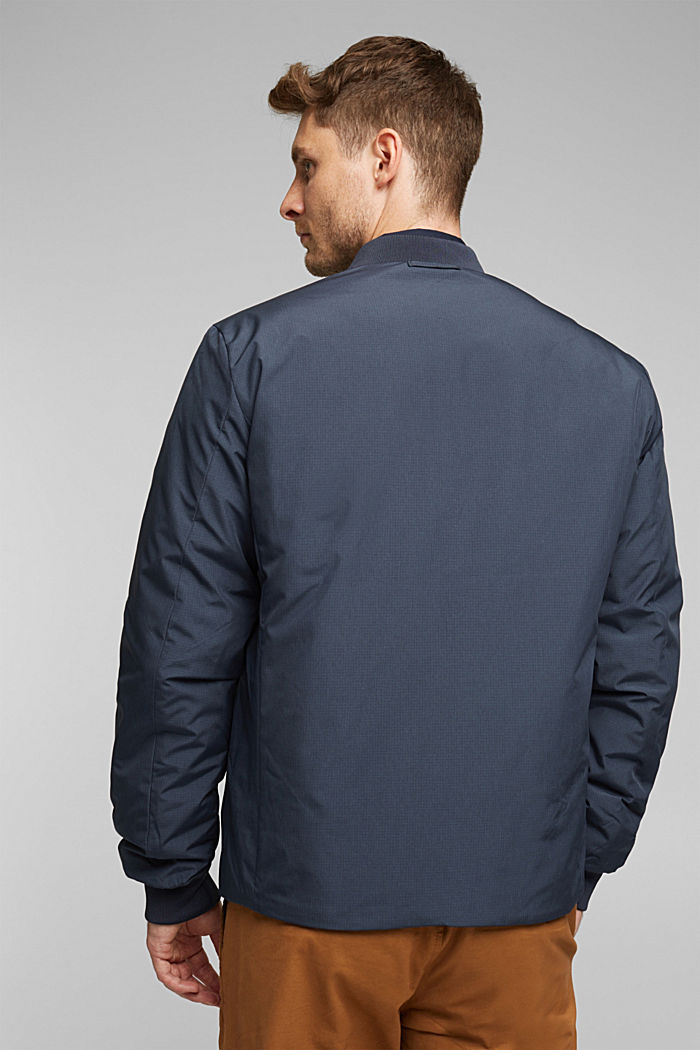 2-in-1 edition: padded nylon bomber jacket, NAVY, detail image number 3