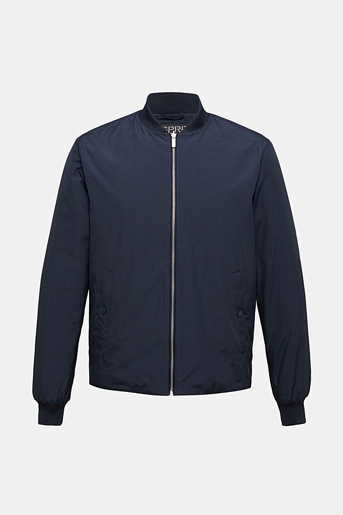 2-in-1 edition: padded nylon bomber jacket, NAVY, detail image number 5