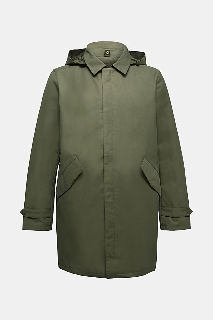 2-in-1 edition: coat with organic cotton