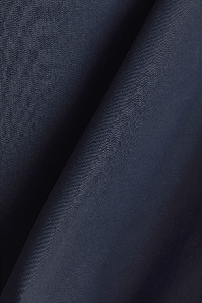 2in1-Edition: Mantel mit Organic Cotton, NAVY, detail image number 5