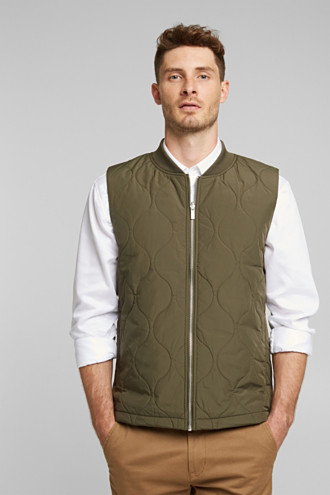 2-in-1 edition: body warmer, recycled