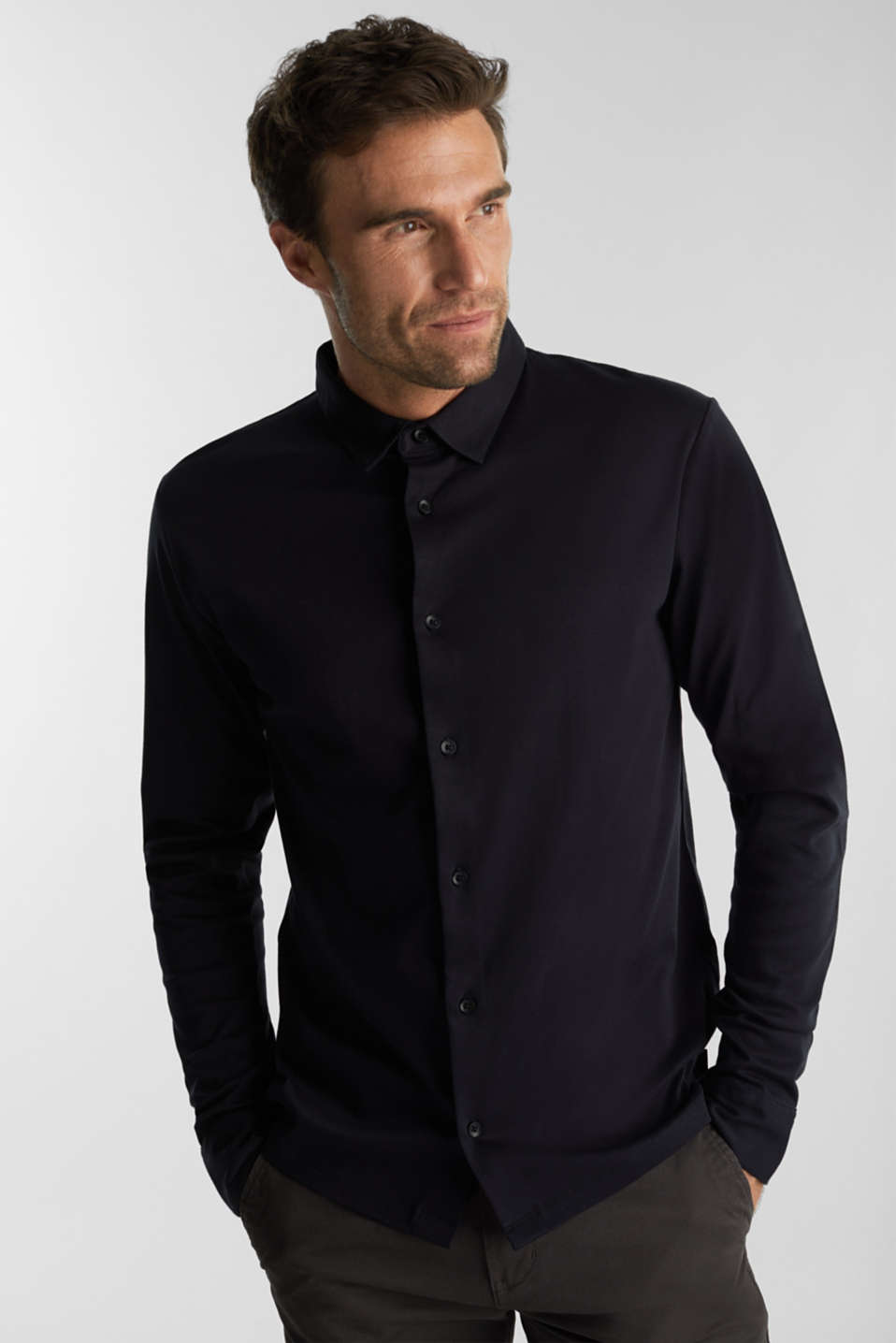 Esprit - Jersey shirt made of 100% organic cotton
