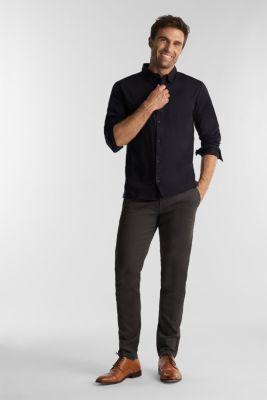 Jersey shirt made of 100% organic cotton, BLACK, detail