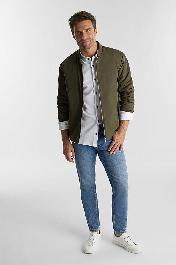 Jersey-Hemd aus 100% Organic Cotton, WHITE, detail image number 2