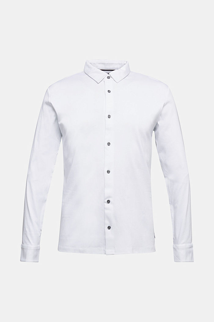 Jersey shirt made of 100% organic cotton, WHITE, detail image number 5