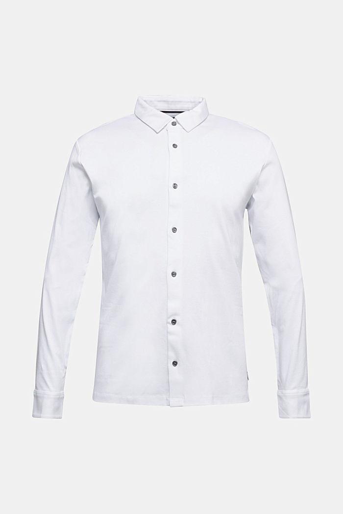 Jersey shirt made of 100% organic cotton