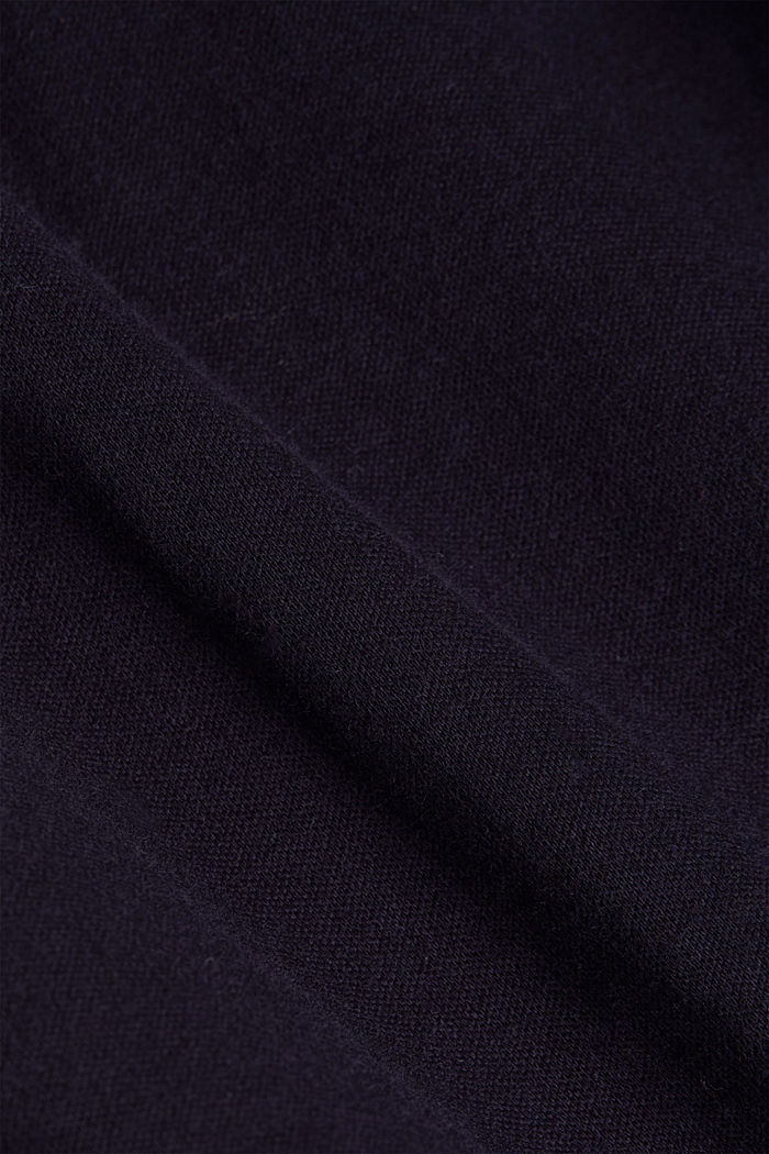 Jersey shirt made of 100% organic cotton, NAVY, detail image number 4