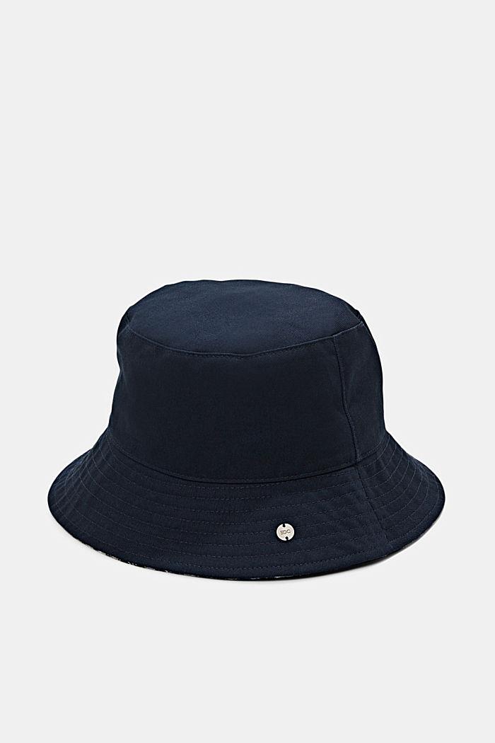 Chapeau style pêcheur à carreaux