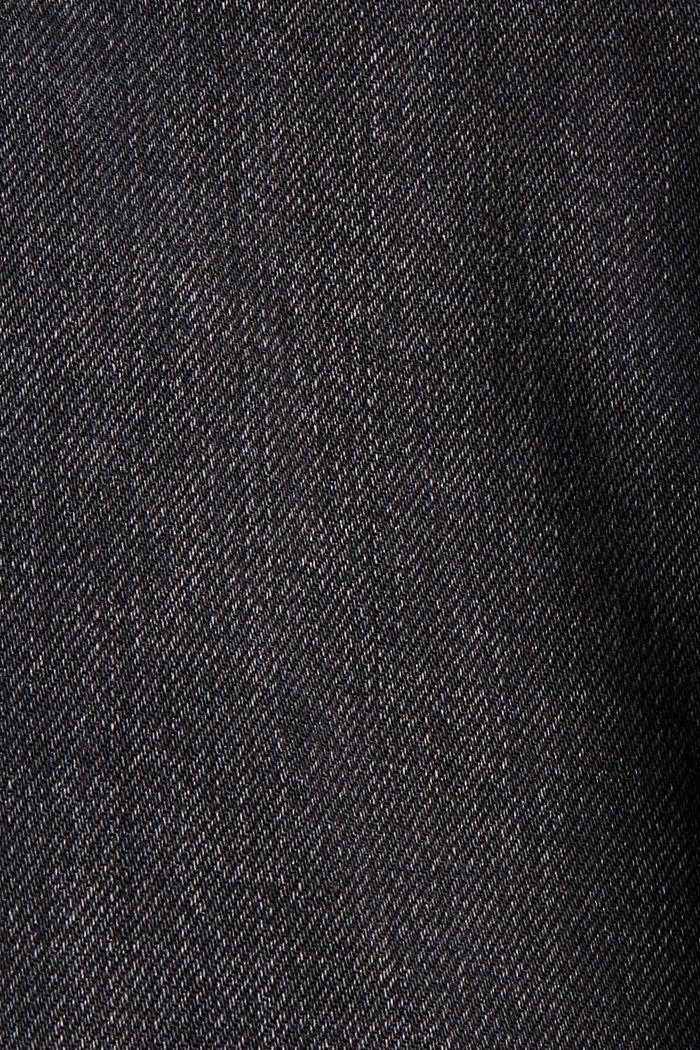 Pants denim Paperbag Fit High Rise, BLACK DARK WASHED, detail image number 4