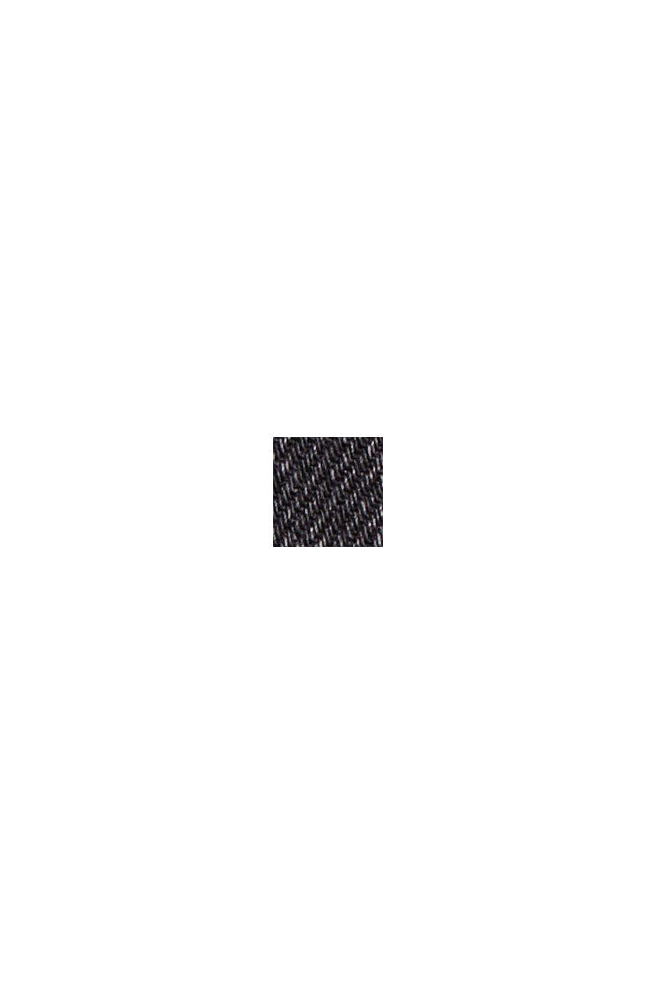 Pants denim Paperbag Fit High Rise, BLACK DARK WASHED, swatch