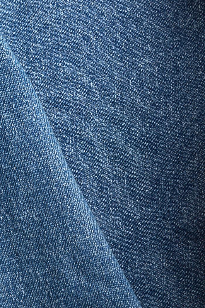 Jean 7/8 de coupe Fashion Fit, coton biologique mélangé, BLUE DARK WASHED, detail image number 4