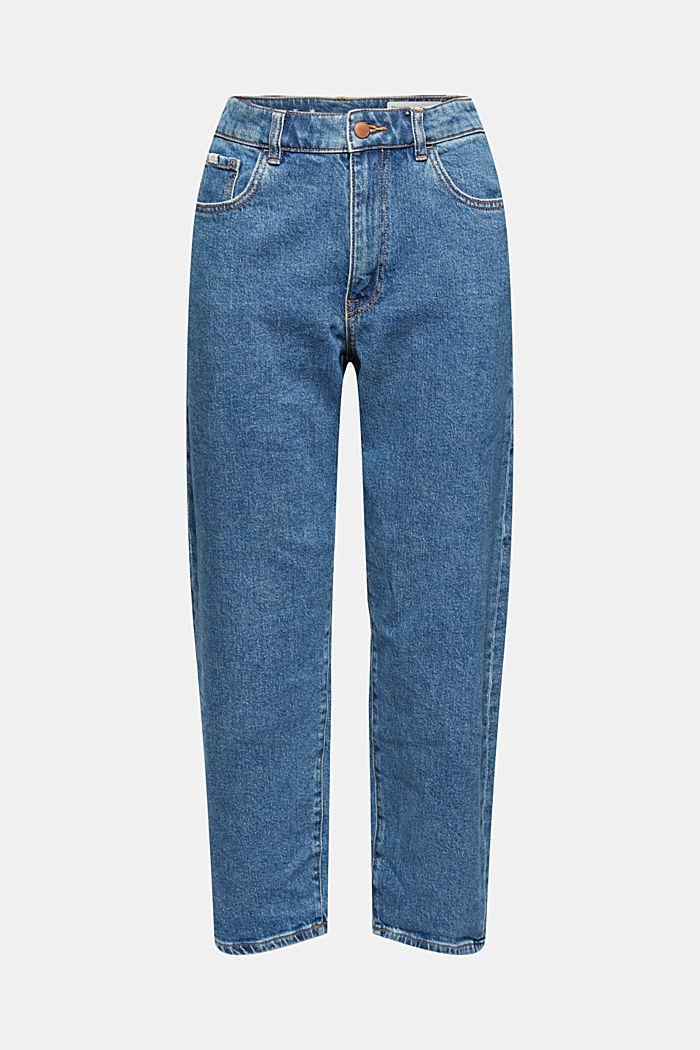 7/8-jeans med fashion-fit, økologisk bomuldsblanding