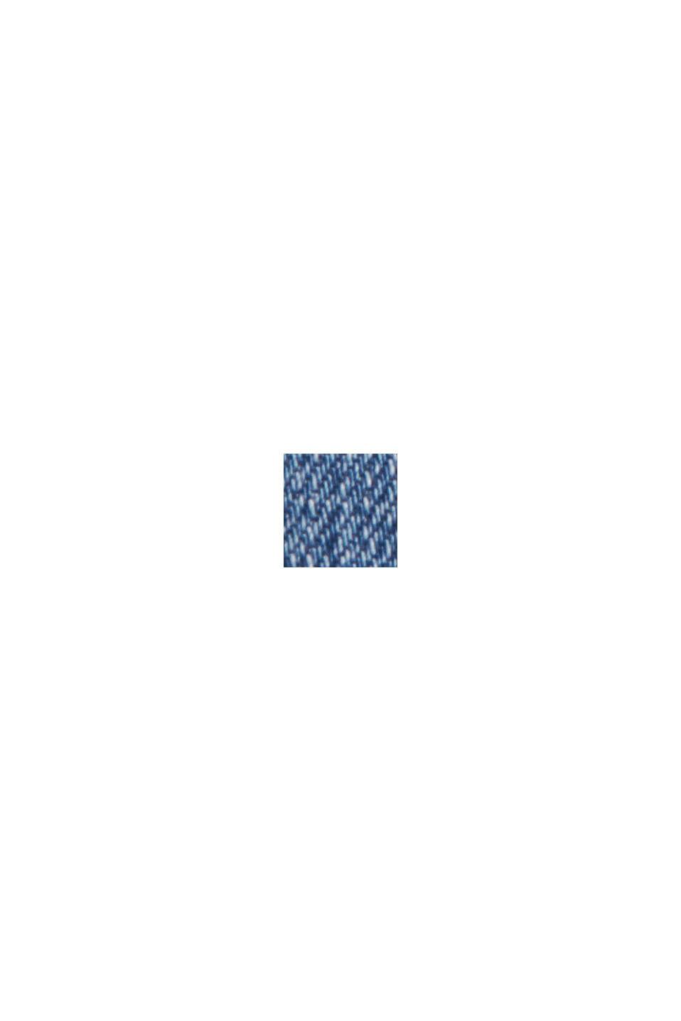 Jeans mit weitem Bein aus Bio-Baumwolle, BLUE MEDIUM WASHED, swatch